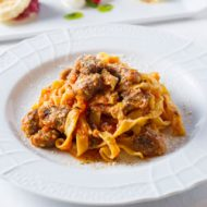 イザーレシュウチエロのイタリア料理の写真